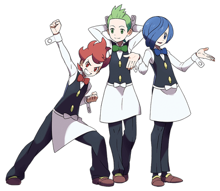 Eevee Brothers Or Cilan Chili And Cress Pokemon America